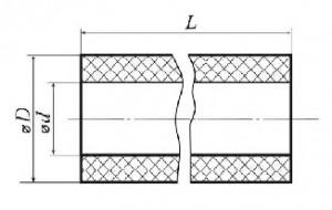 Трубки керамические одноканальные ТУ 25.11.1510-80